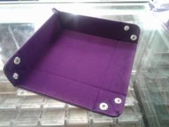 Die Hard Folding Square Tray w/ Purple Velvet