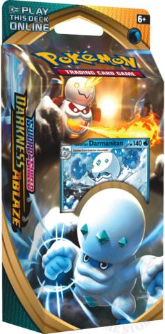 Pokemon Sword & Shield - Darkness Ablaze Theme Deck Darmanitan
