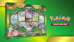Pokemon Legacy Evolution Pin Collection
