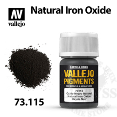 Vallejo Pigments - Natural Iron Oxide 35ml - Val73115