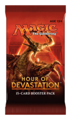 Hour of Devastation Booster Pack - English