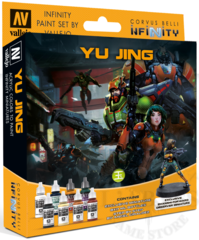 Vallejo Box Set Infinity - Yu Jing ( 70235 )