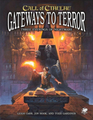 Call Of Cthulhu 7th - Gateways to Terror