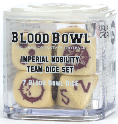 Blood Bowl: Imperial Nobility Dice Set ( 202-08 )
