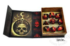Elder Dice - The Mark of Necronomicon 9 Polyhedral Dice Set ( EDP-L02 )