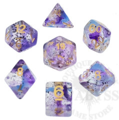 7 Polyhedral Abyss Dice Set I The Magician - AD006