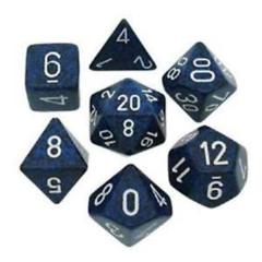 7 Polyhedral Dice Set Speckled Stealth - CHX25346