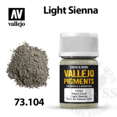 Vallejo Pigments - Light Sienna 35ml - Val73104