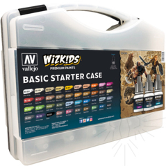 Vallejo Box Set Wizkids - Basic Starter Case - Val80260