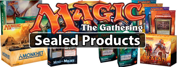 Mtg sealed products