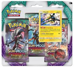 Pokemon Sun & Moon Guardians Rising 3 Pk Blister