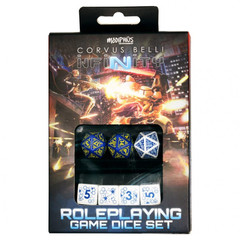 Infinity Rpg: Dice Set - 012 (7 Ct)