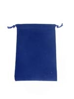 Grande Pochette- Bleu Royal- Dice Bag