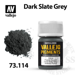 Vallejo Pigments - Dark Slate Grey 35ml - Val73114