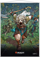 Ultra Pro Wall Scroll MTG Stained Glass Ajani (18175)
