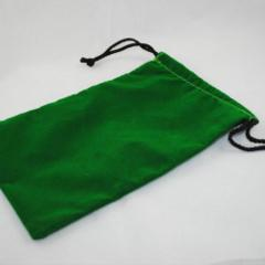 Cloth Dice Bag- Large Green