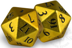 HEAVY METAL D20 Dice Set - Yellow (85341)