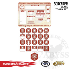 D&D: Token Set - Sorcerer