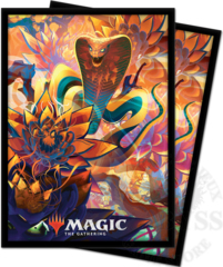 Ultra Pro - MTG Zendikar Rising V5 Lotus Cobra Deck Protector sleeves 100ct (18462)