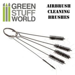 GSW Airbrush Cleaning Brushes Set (1409)