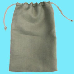 DICE BAG - 6X9 MICROSUEDE GREY
