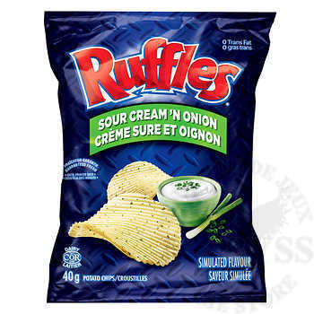 Chips Ruffles Sour Cream