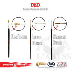 Army Painter D&D Nolzur's Marvelous Brush Set ( 75003 )