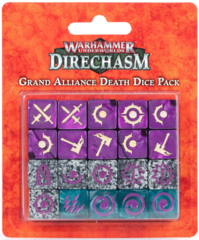 Warhammer Underworlds: Grand Alliance Death Dice ( 110-14 )