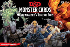 D&D: Monster Cards Mordenkainen's Tome of Foes