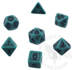 7 Polyhedral Abyss Dice Set Cthulhu - AD027