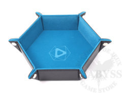 Die Hard Folding Hex Tray w/ Teal Velvet
