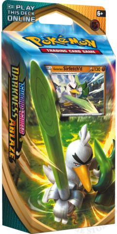Pokemon Sword & Shield - Darkness Ablaze Theme Deck Sirfetchd