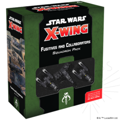 Star Wars: X-Wing - Fugitives and Collaborators Squadron Pack ( SWZ85 )
