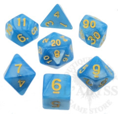 7 Polyhedral Abyss Dice Set II High Priestess - AD007