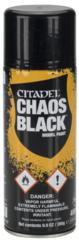 Citadel Primer Spray - Chaos Black ( 62-02 )