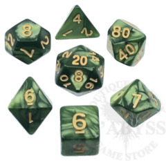 7 Polyhedral Abyss Dice Set IX Hermit - AD014