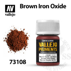 Vallejo Pigments - Brown Iron Oxide 35ml - Val73108