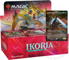 Ikoria: Lair of Behemoths Booster Box + Buy-a-Box Promo