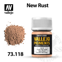 Vallejo Pigments - New Rust 35ml - Val73118