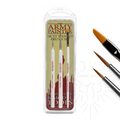 Army Painter Most Wanted Wargamer Brush Set ( TL5043 )