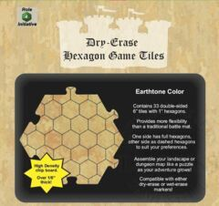 Dry Erase Dungeon Tiles - Earthtone: (33) 6