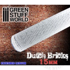 Rolling Pin Dutch Bricks 15mm (1626)