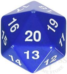 Jumbo Spindown D20 55mm Blue - KOP14797