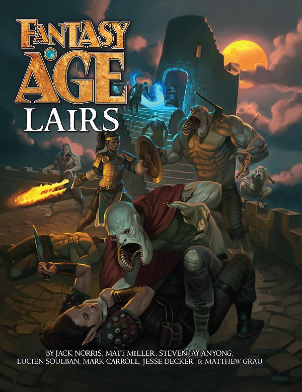 Fantasy Age - Lairs