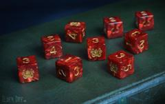 Elder Dice - 9 D6 Brand of Cthulhu ( ED6-C01 )