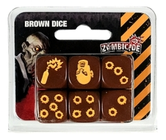 Zombicide: Season 3 Dice Brown