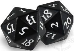 HEAVY METAL D20 Dice Set - Black (84597)