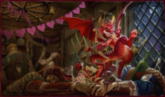 Dragon Shield Playmat - Valentine Dragon (AT-22547)