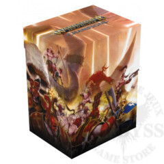 Ultimate Guard Deck Case 80+ Warhammer Chaos vs Order