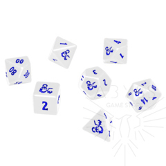 7 Polyhedral Ultra-Pro Dice Set - Heavy Metal D&D Icewind Dale (18355)